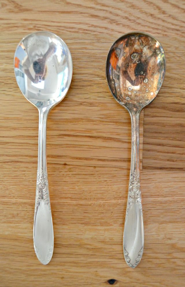 How To Clean Silver And Remove Tarnish Cleaning Hacks