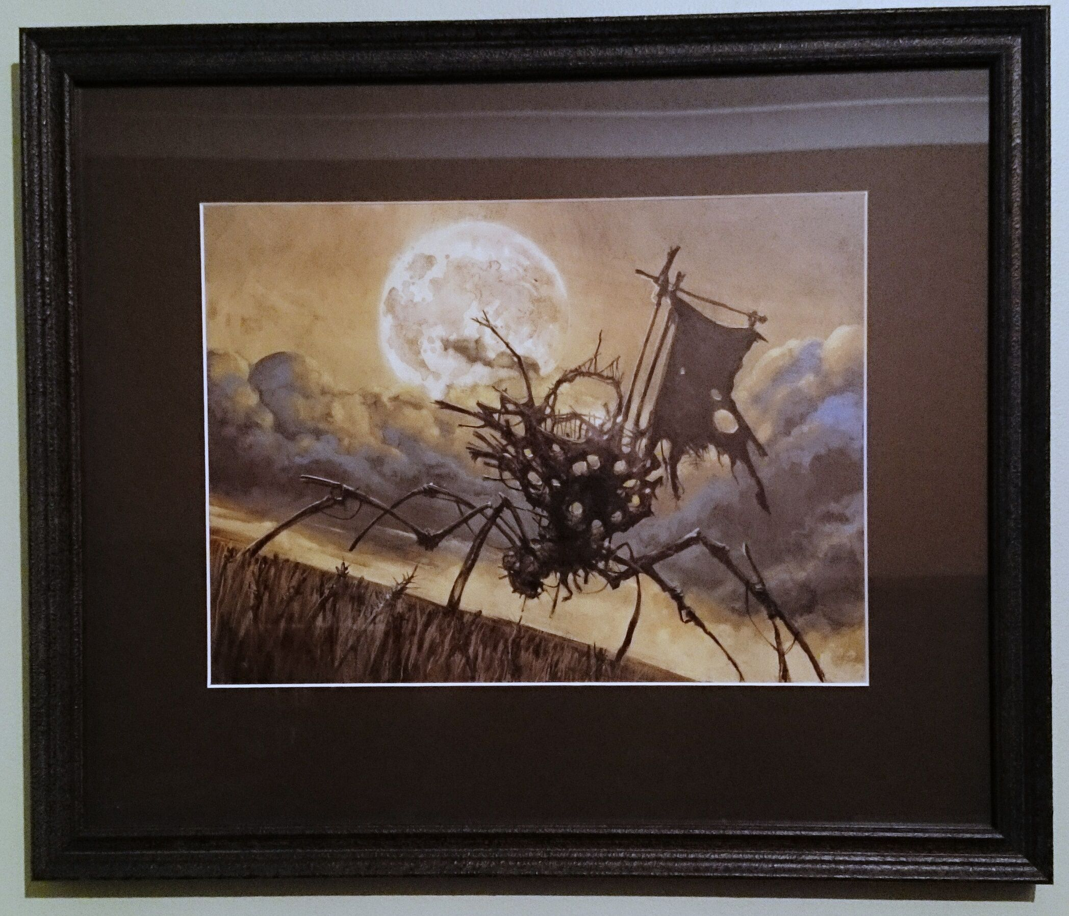 Magic Art of the Day - Wicker Warcrawler by Carl Critchlow - Check out the owner's gallery: