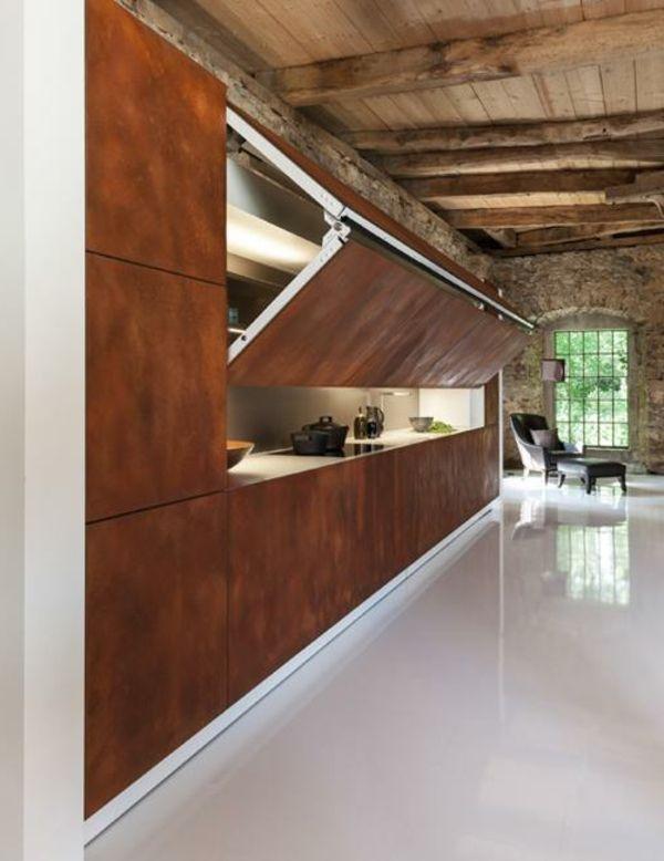 les portes de placard pliantes pour un rangement joli et moderne pinterest dining. Black Bedroom Furniture Sets. Home Design Ideas