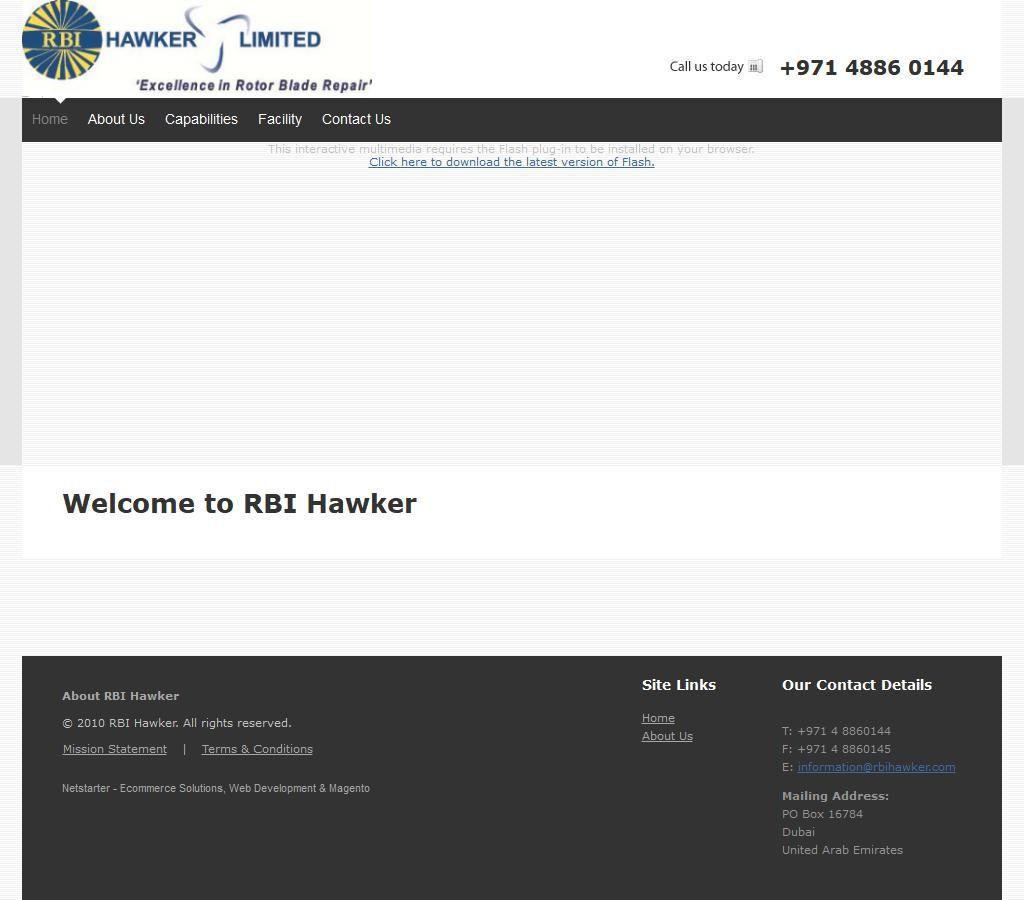 Rbi Hawker Ltd 26 3 S104 Street Jebel Ali Industrial 2 518