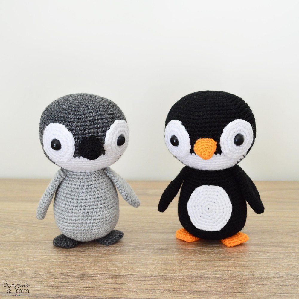 Make your own Yves the Lovely Penguin with this amigurumi CROCHET ...