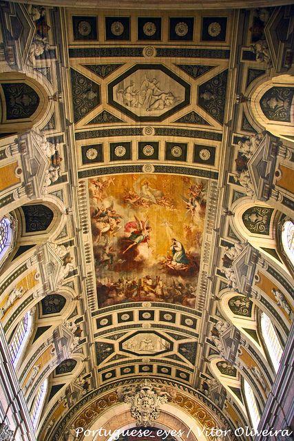 Beautifull ceiling of Church Nossa Senhora da Encarnação - #Lisboa - #Portugal by Portuguese_eyes, via Flickr