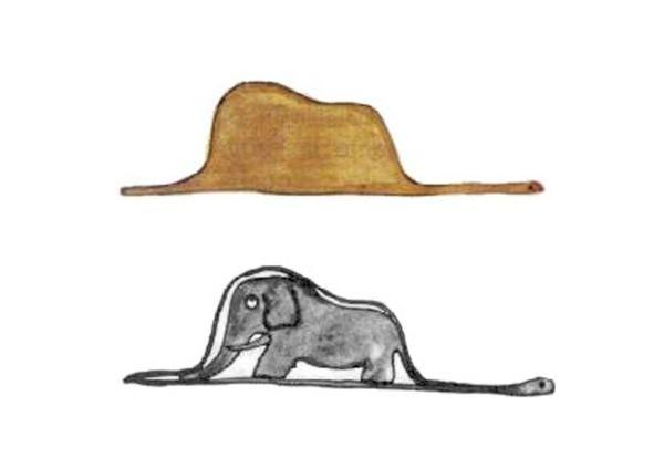 El Principito Elefante El Principito Dibujos El Principito