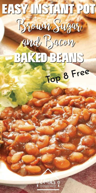Instant Pot Baked Beans #meltingpotrecipes