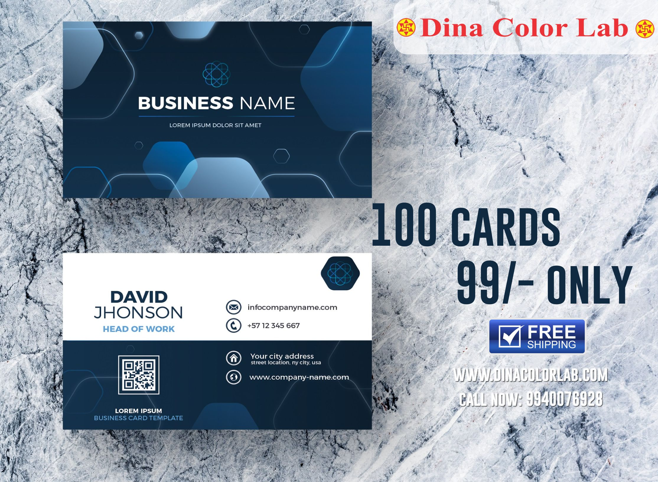 Visiting Card Printing Online Visiting Card Printing Visiting Cards Business Card Template Design