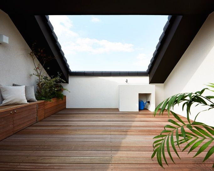 ルーフバルコニー 注文住宅のアキュラホーム テラスのデザイン