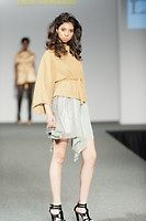 Cowl Neck Sweater, Iridescent Skirt