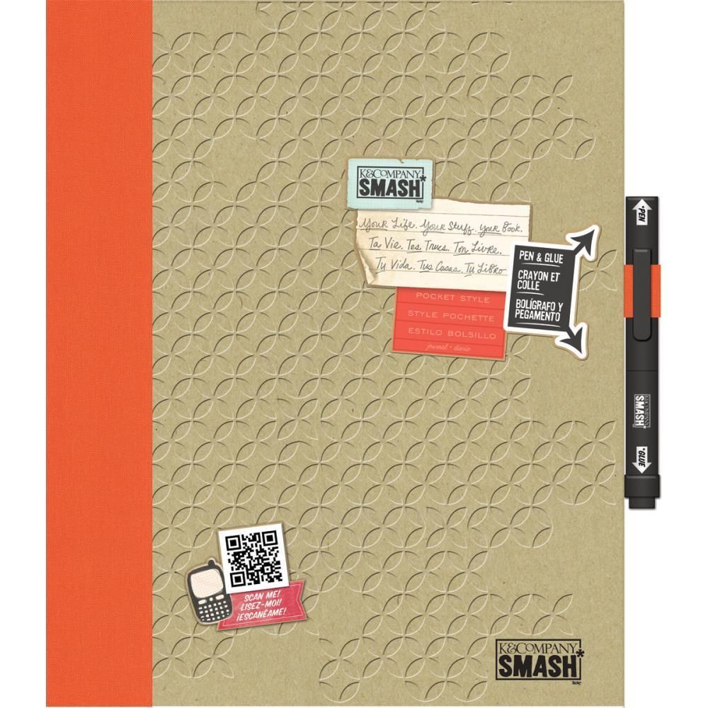 K and Company Pink SMASH Folio Bundle |Smash Folio Journal Kit