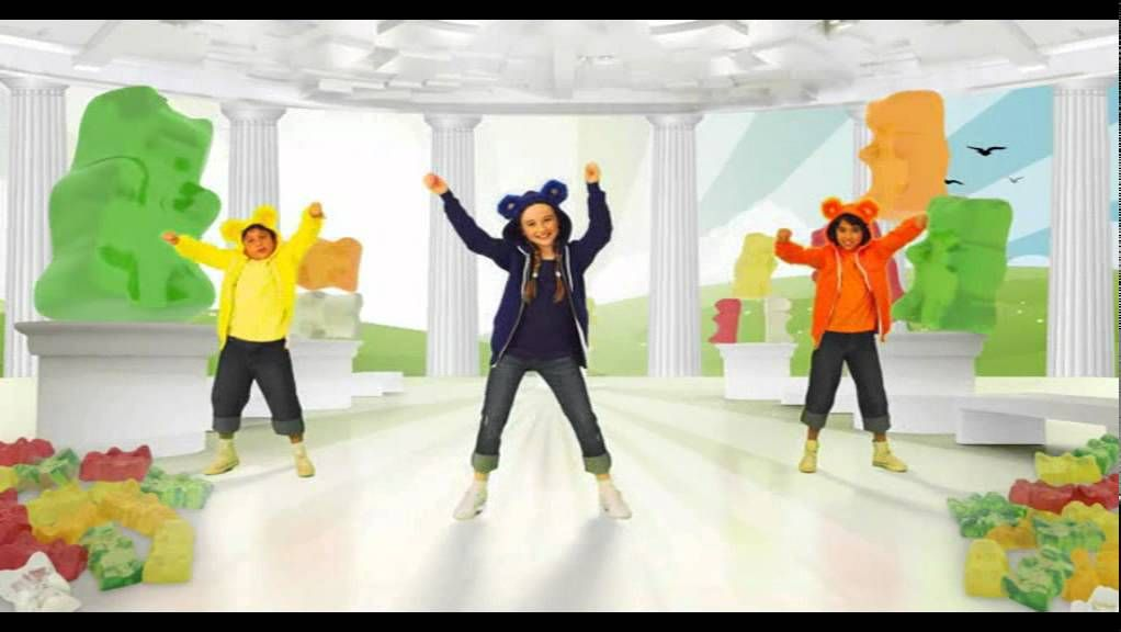 Just Dance Kids 2 The Gummy Bear Hq 16 9 Wii Rip Just Dance Kids Brain Break Videos Brain Breaks