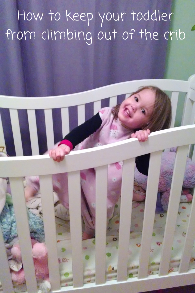 How to keep your toddler from climbing out of the crib ...