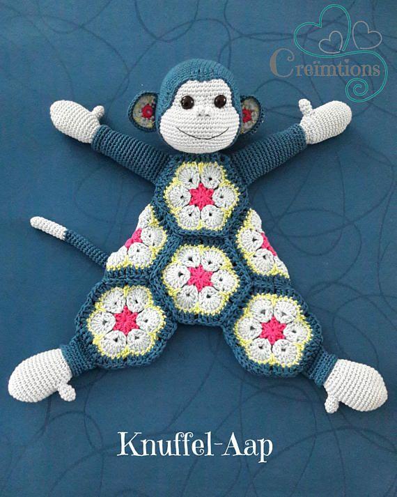 Haakpatroon Knuffel Aap Handwerk Pinterest Crochet Crochet