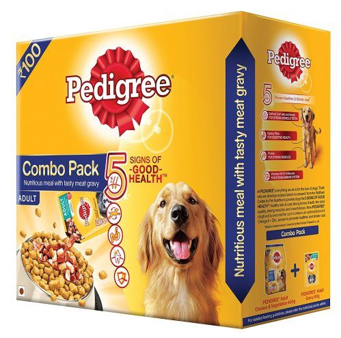 Pedigree Adult Combo Pack 480 G Get Back Full Value As Amazon Pay