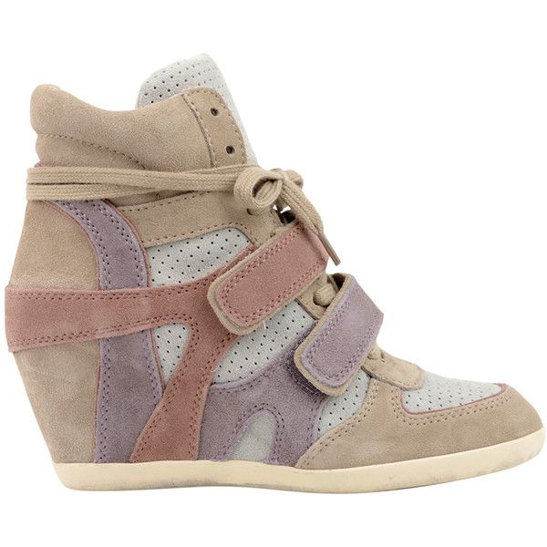 c961ac156385 Discover ideas about Leopard Wedges. Bonno Leopard-Print Calf Hair Wedge  Sneaker by Ash ...