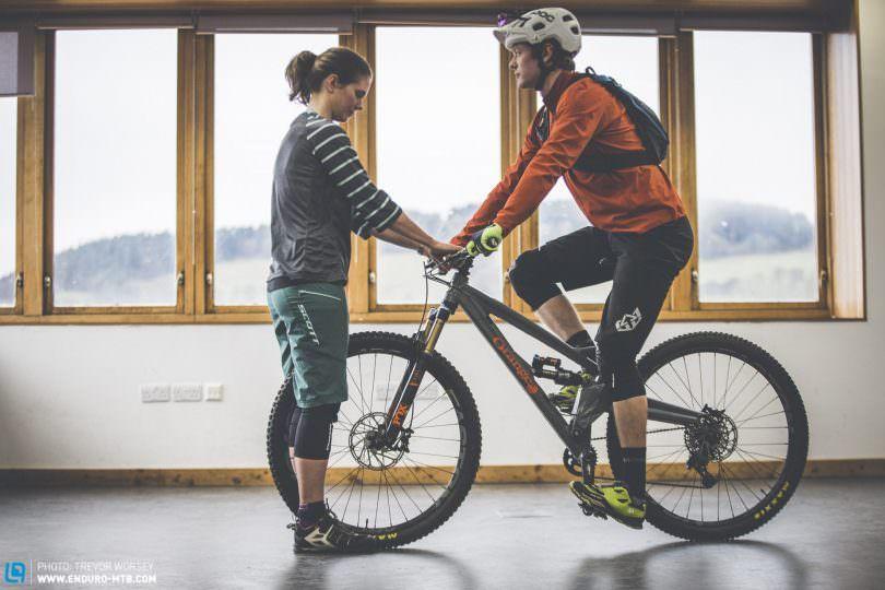 Mountain Bike Seat Position