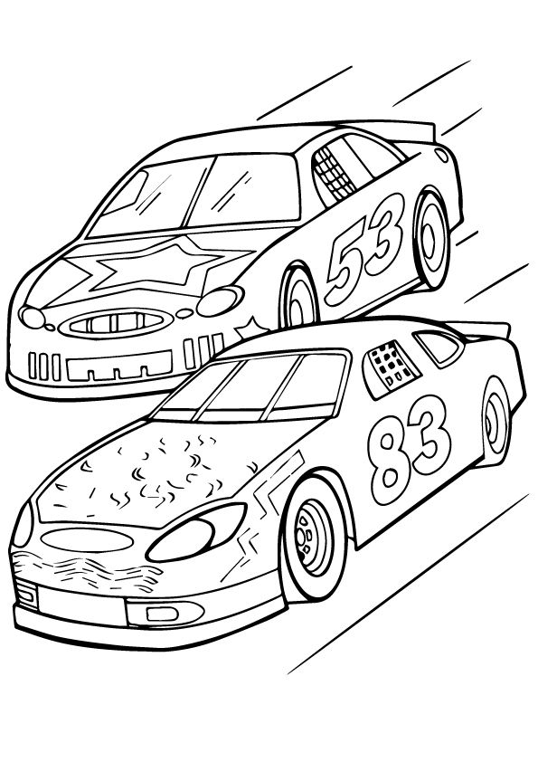 Top 25 Cars Coloring Pages For Your Little Boys Truck