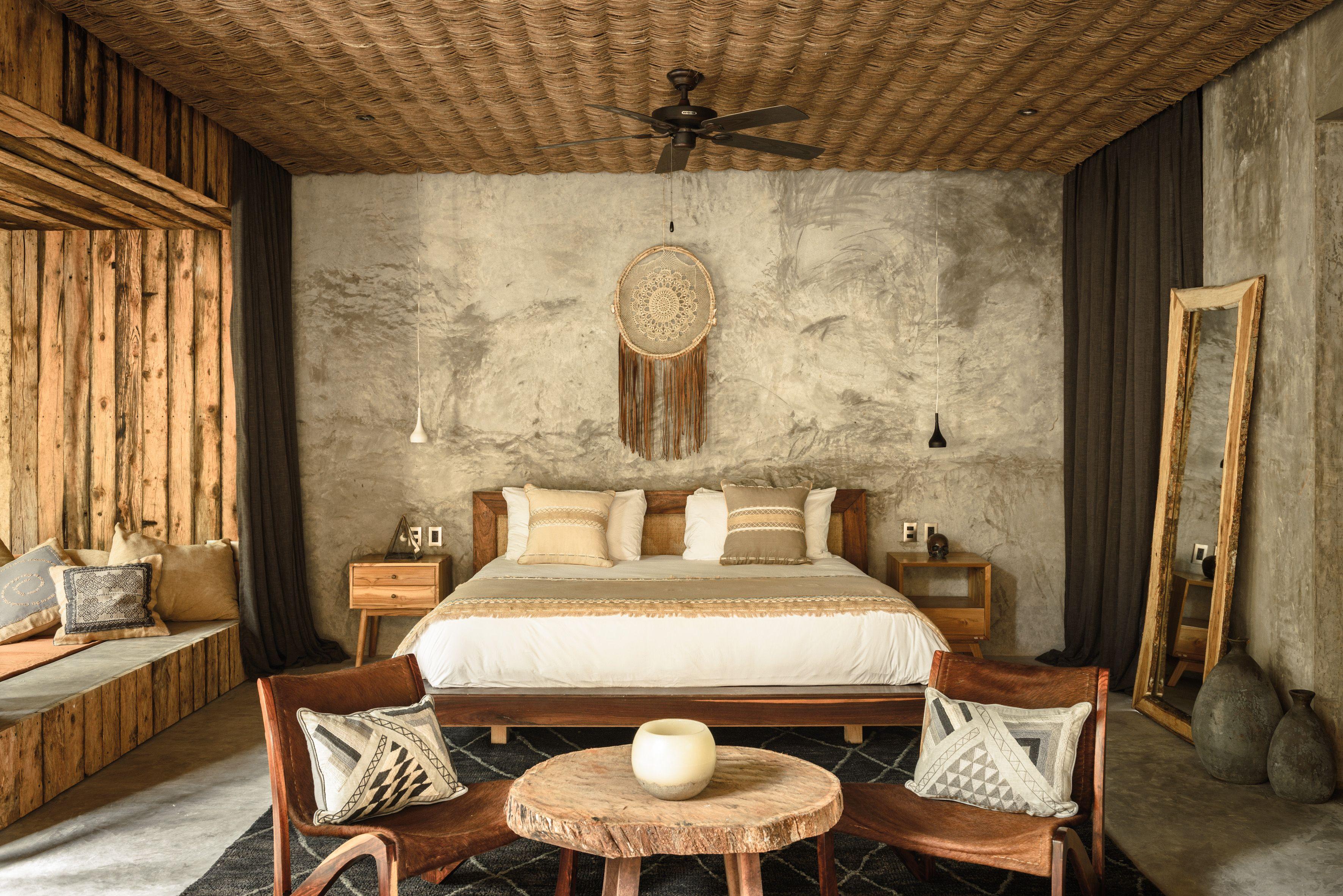 Hotel boutique in tulum hotel be tulum luxury resort in for Hotel interior decor