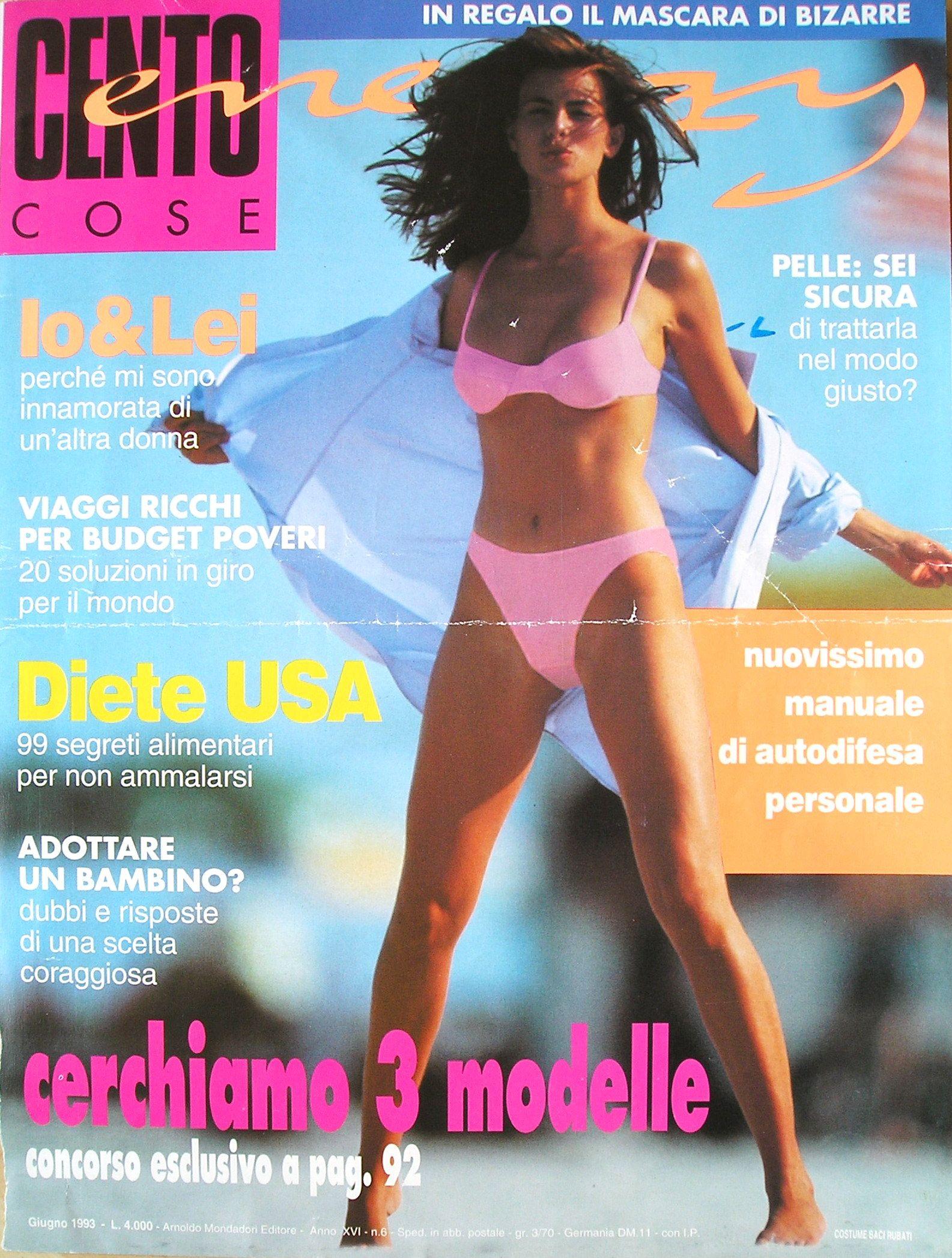 Niki Taylor  -  Italian Cento Cose June 1993