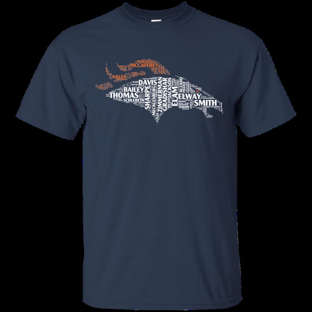 Denver Broncos shirts Logo Team names Tshirts Hoodies