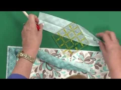 Since Binding Isnt My Favorite Step In The Quilt Making Process I Am Always Looking For Variations On How To Quilt Binding Quilt Binding Tutorial Easy Sewing