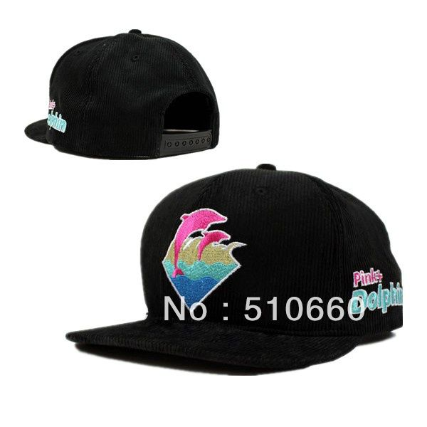 Free Shipping New Arrival 2013 New Color Pink Dophin Snapback Baseball Caps Hats Corduroy Black Navy Grey on AliExpress.com. $9.99