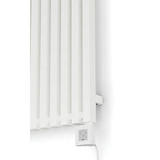 Terma Triga E Wall Mounted Oil Filled Radiator Textured White 1000w 580 X 1700mm In 2020 Oil Filled Radiator Wall Mount Radiators