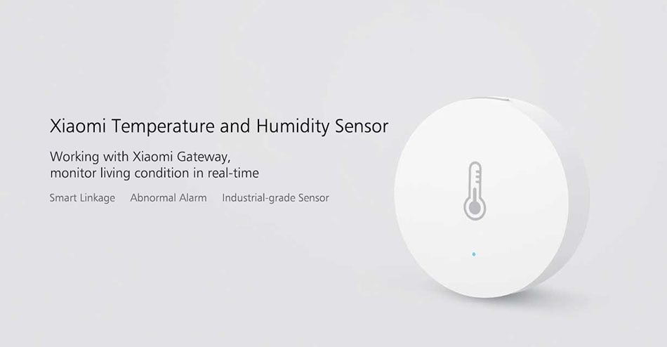 Xiaomi MIJIA Temperature & Humidity Sensor With Battery