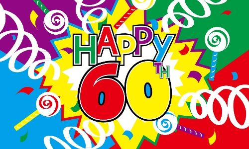 pics for u003e happy 60th birthday banner for those special days rh pinterest com Happy 60th Birthday Signs Clip Art For Men Happy 60th Birthday Clip Art