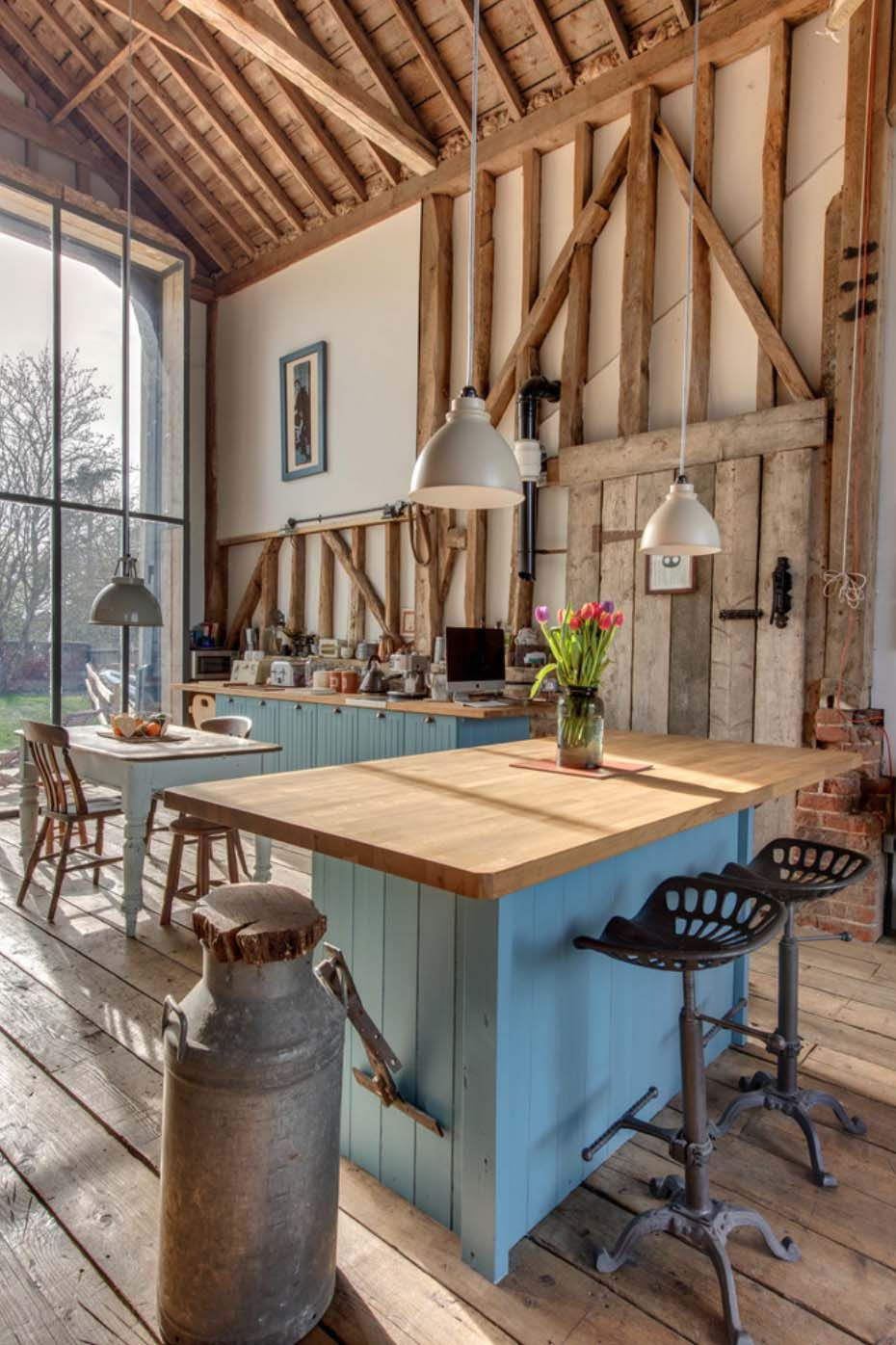breathtaking country chic kitchen | 33 Amazing country-chic kitchens brimming with character ...