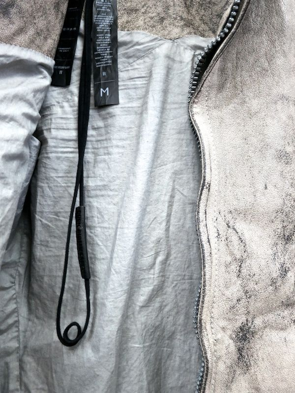 ///Boris Bidjan Saberi - Distressed Buffalo Leather