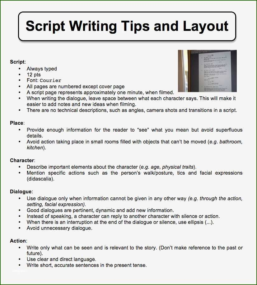 How To Write Camera Shots In A Script Blog Lif Co Id