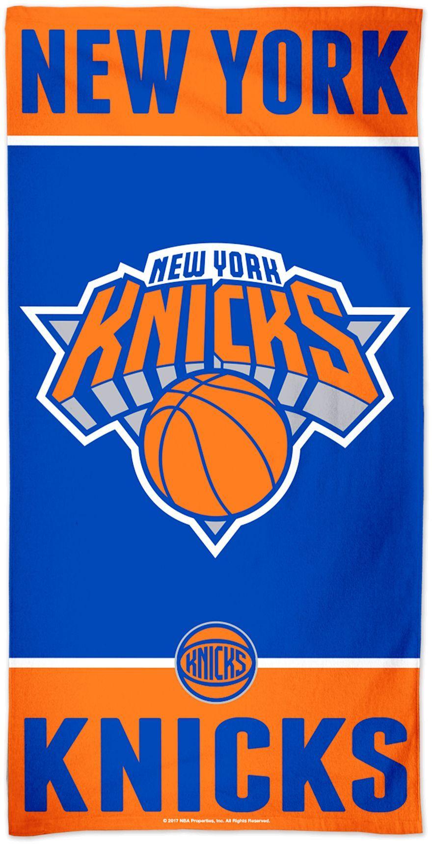 Wincraft New York Knicks Beach Towel In 2020 New York Knicks Wincraft Team Logo Design