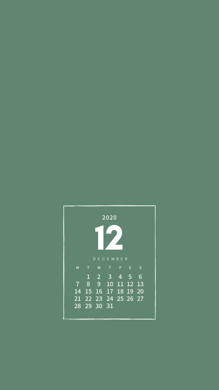 月 カレンダー 12 こよみ
