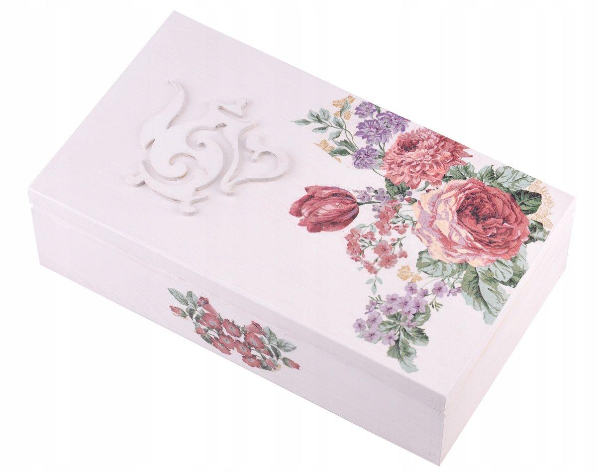 Kompozycja Kwiatowa Flower Box Kwiaty W Pudelku