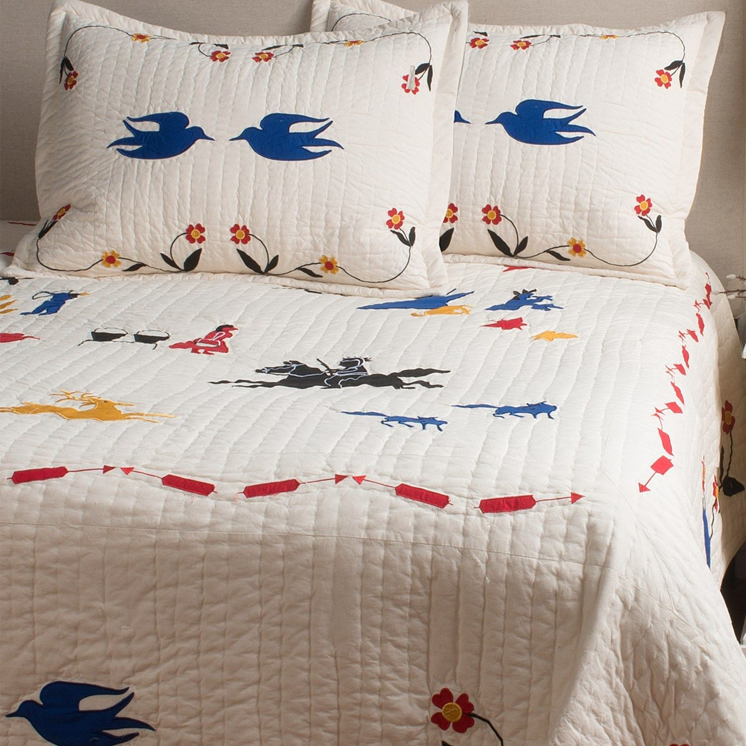 Pendleton Crow Creek Cotton Quilt - Queen | Cotton quilts, Crows ... : pendleton quilts - Adamdwight.com