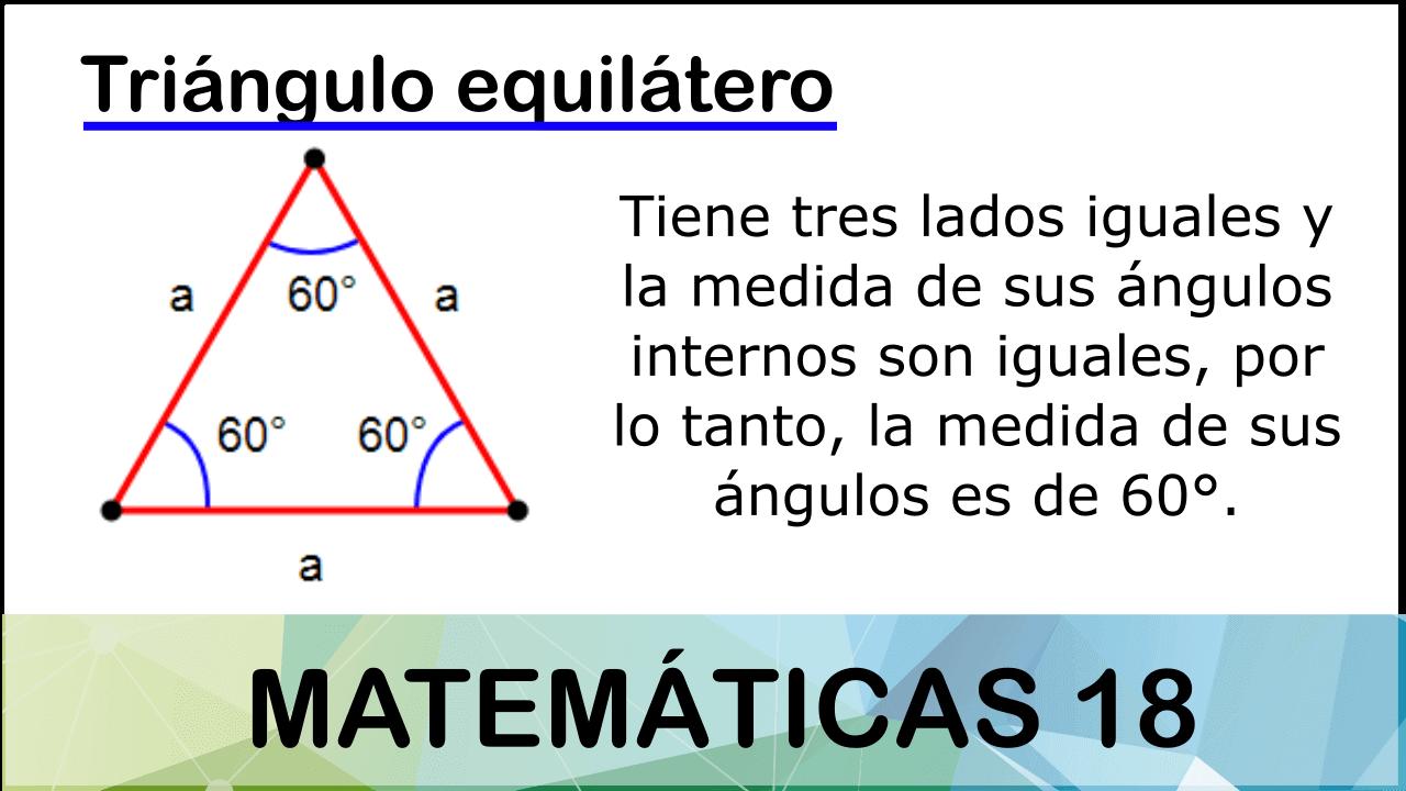 Triángulo Equilátero Triangulos Area De Un Triangulo Angulos Internos