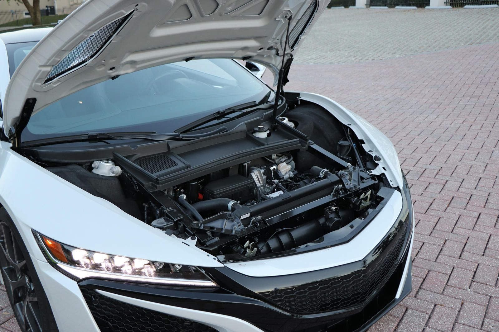 Acura Nsx Engine Bay