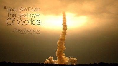 Oppenheimer Quote Jrobert Oppenheimer Quote #atomicbomb  Philosophy  Pinterest .