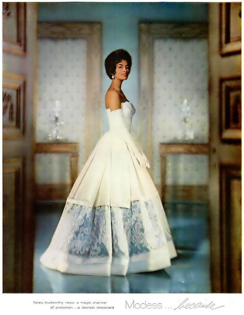 Ebony Magazine, January 1960 :Drama and Elegance , timeless!