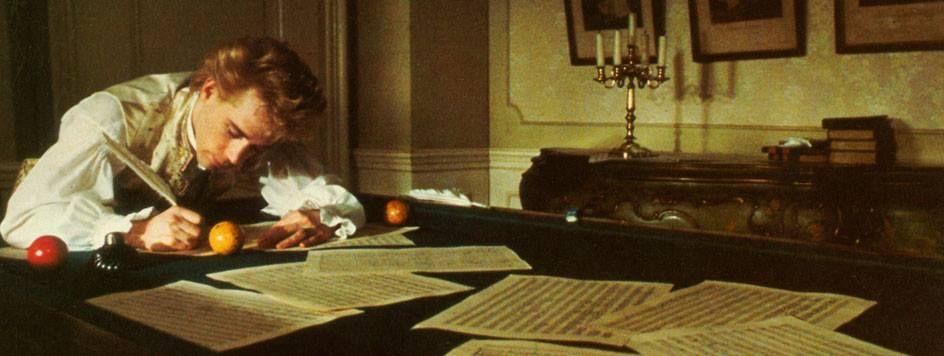 Amadeus, 1984, Milos Foreman. The great Wolfgang Amadeus Mozart.
