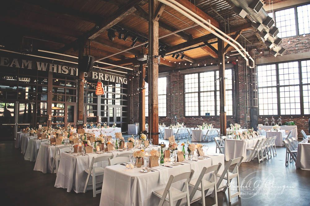 A Vintage Wedding At Steam Whistle Brewery Wedding Decor