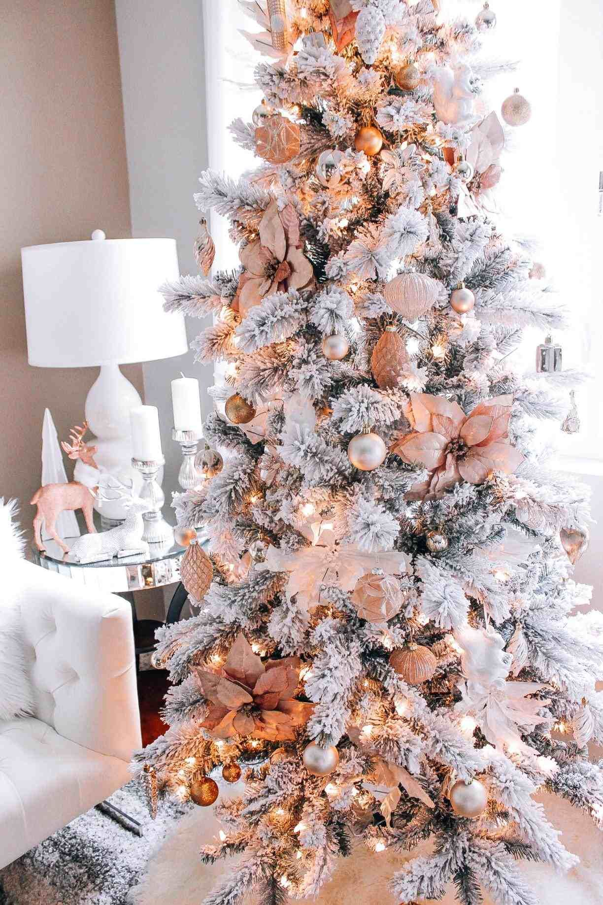 New Post Gold And White Christmas Tree Interesting Visit Xmastsite