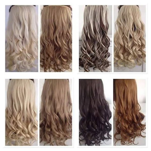 Buy Hair Extension 24inch 5 Clip In Pakistan At Just Rs1175
