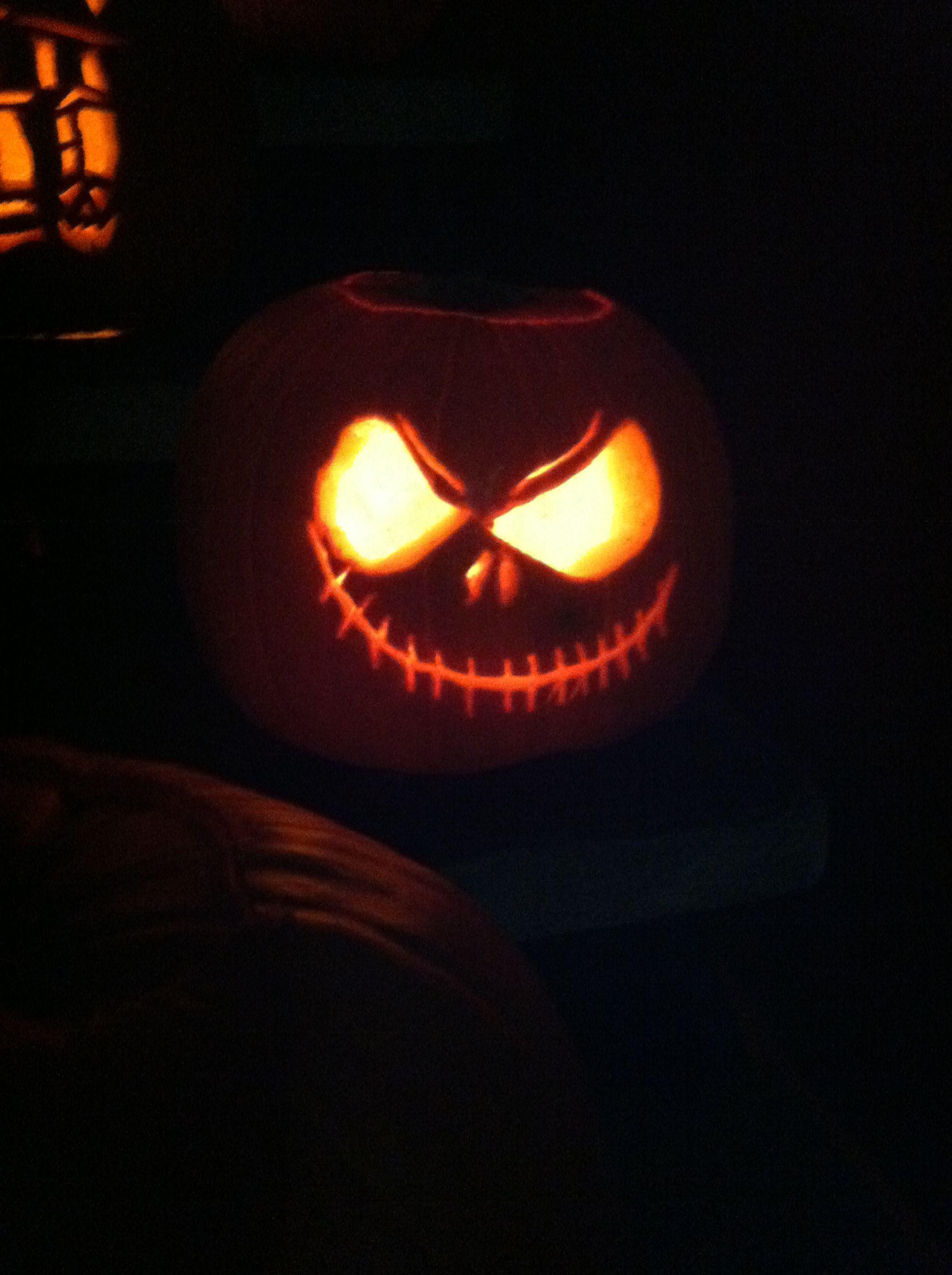 nightmare before christmas jack o lanterns - Nightmare Before Christmas Jack O Lantern