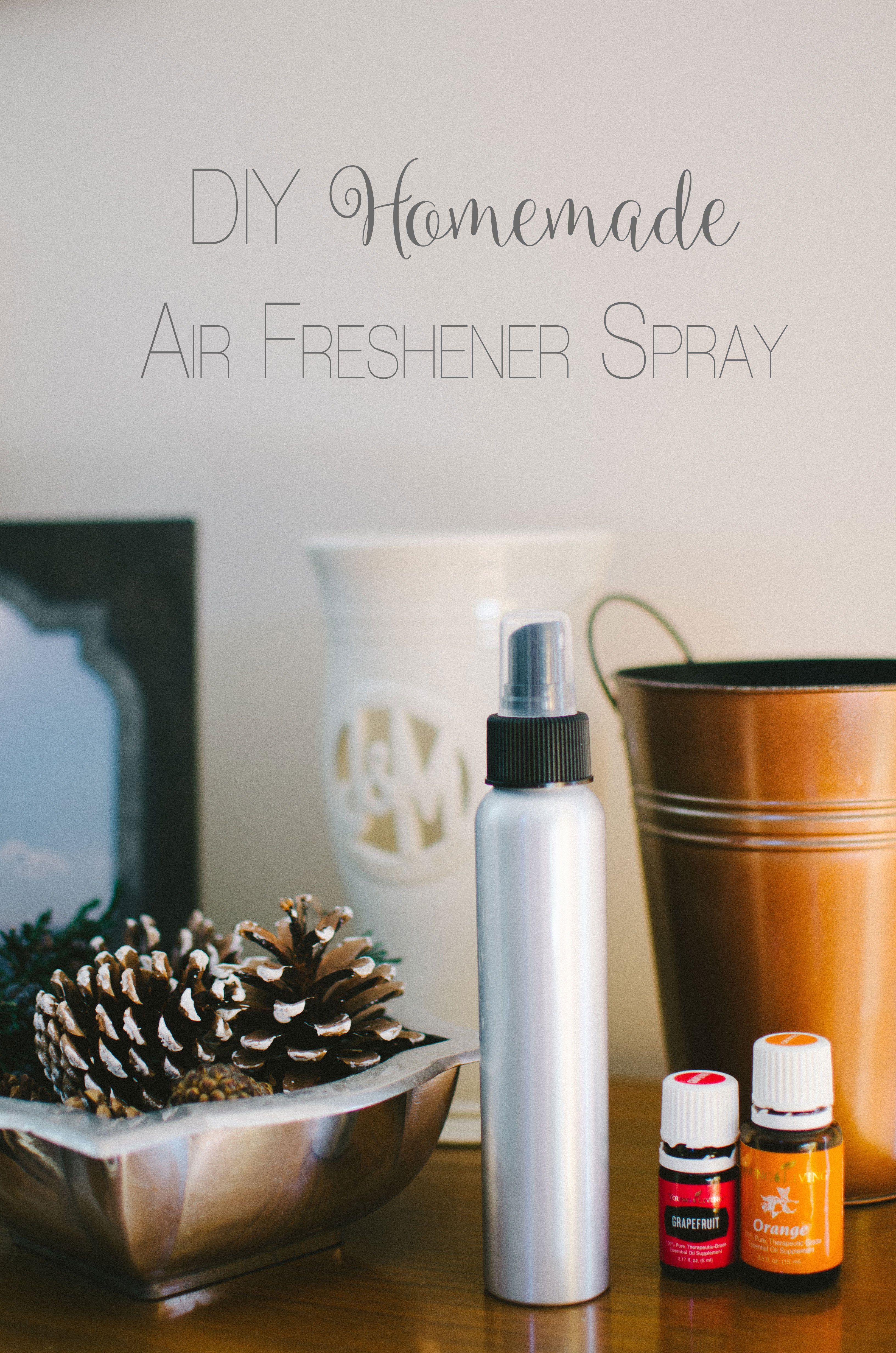 DIY NonToxic Homemade Air Freshener Spray Still Being