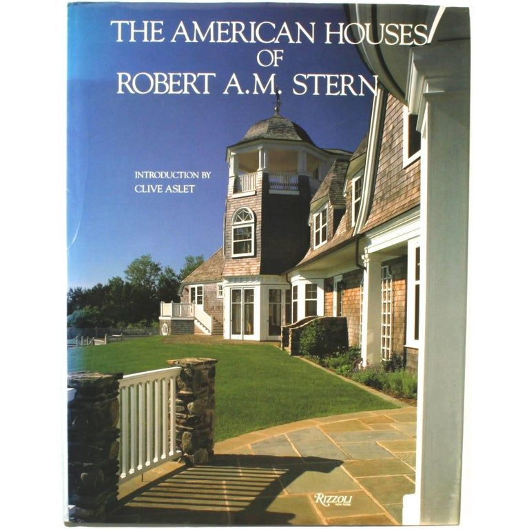 Clive Aslet Paper Houses Of Robert .m. Stern First Edition ...