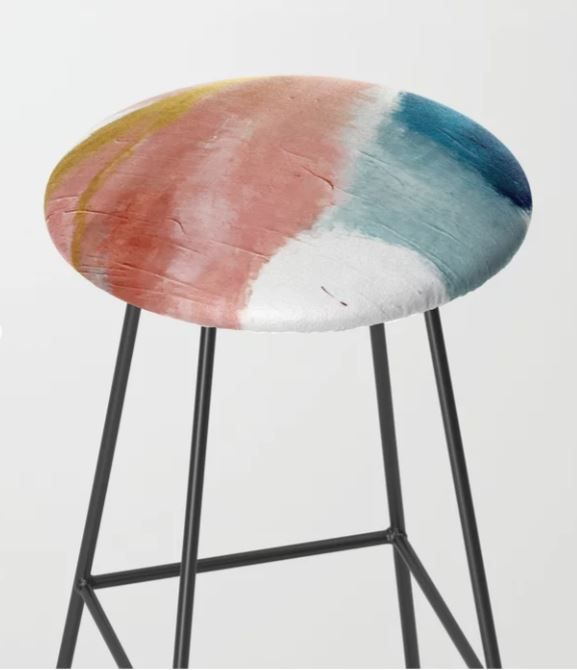 Astonishing Exhale A Pretty Minimal Acrylic Piece In Pinks Blues Gamerscity Chair Design For Home Gamerscityorg