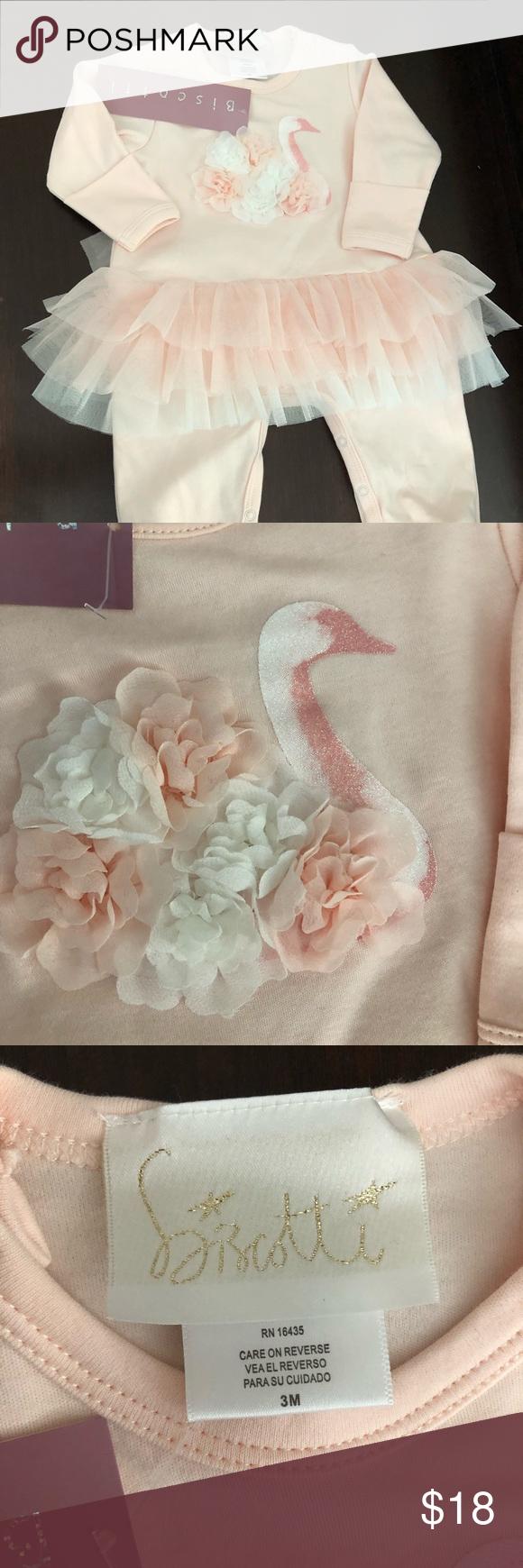 Baby Biscotti 3M Tutu Footie Pajamas Brand new with tags