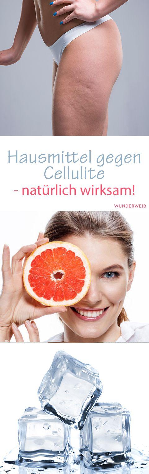 Hausmittel gegen Cellulite - natürlich wirksam! #schlankaussehen