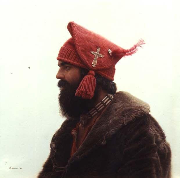 a13bd4eab3995 Voyageur Toque Mountain Man Rendezvous