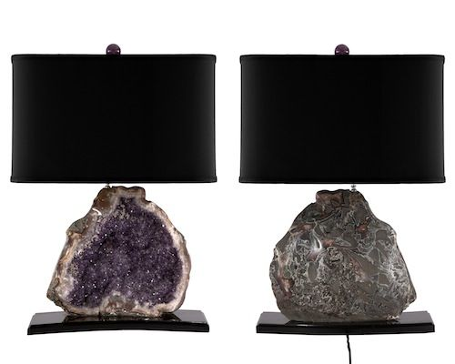Amethyst Geode Lamp
